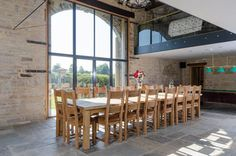 © O2i Design Limited. A #barnconversion created a modern family-home whilst retaining its traditional period features and charm.