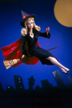 Bewitched Barbie!!!!' (Why Yes, I DO own one of these)