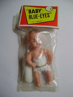 Vintage década de 1960 Dimestore ojos azules de bebé Muñeco Hecho En Hong Kong Orig. Pkg. | Juguetes y pasatiempos, Juguetes antiguos, Más juguetes clásicos y vintage | eBay!