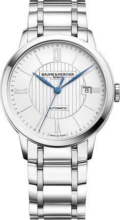 Baume et Mercier Watch Classima #bezel-fixed #bracelet-strap-steel #brand-baume-et-mercier #case-depth-8-95mm #case-material-steel #case-width-40mm #date-yes #delivery-timescale-call-us #description-done #dial-colour-silver #gender-mens #luxury #movement-automatic #official-stockist-for-baume-et-mercier-watches #packaging-baume-et-mercier-watch-packaging #style-dress #subcat-classima #supplier-model-no-m0a10215 #warranty-baume-et-mercier-official-2-year-guarantee #water-resistant-50m