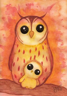 Owls by MissPoe on deviantART