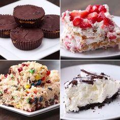 4 Easy 3-Ingredient No-Bake Desserts