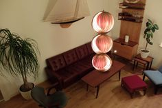 INTERIORINSPIRATION // MID CENTURY MODERN // AUTHENTIC VINTAGE HANS AGNE JAKOBSSON MOON LAMP // swedmade.gmbh@gmail.com
