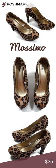 NWOT leopard print platform heels NWOT leppard price platform heels by Mossimo supply. Heel height is approximately Size 9 .great for casual or career wear. ❣WE LOVE OFFERS ❣ Mossimo Supply Co. Plus Fashion, Womens Fashion, Fashion Tips, Fashion Design, Fashion Trends, Career Wear, Platforms, Best Deals, Colors