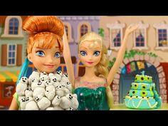 Frozen Fever Snowgies Attack Anna On Her Birthday With Elsa And Kristoff. DisneyToysFan