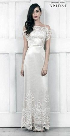 Ivory & Pearl Bridal Boutique exclusively stock Catherine Deane Wedding Dresses in Northern Ireland. Wedding Dresses 2014, Wedding Attire, Bridal Dresses, Wedding Gowns, Wedding Mandap, Wedding Hair, Wedding Stage, Wedding Receptions, Lace Wedding