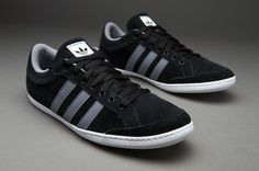 Outlet Adidas Originals Plimcana Low - Black/Grey/White,80% off for sneakers, impossible is nothing.