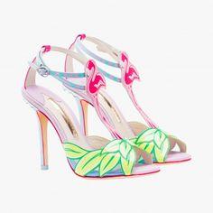df3a8ee63dd Escarpins à fini fluo - Sophia Webster Shoes For School