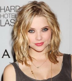 Messy Medium Hairstyles 2014 for Thick Wavy Hair