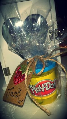 Play Doh party favours