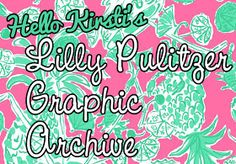 Hello Kirsti: Lilly Pulitzer Wallpapers