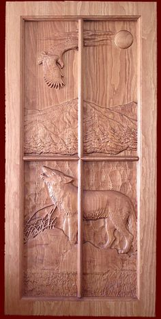 Carved Doors and Panels