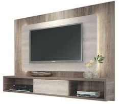 Living room tv wall ideas the best unit design ideas on wall design wall mount tv . Tv Cabinet Design, Tv Wall Design, Bedroom Tv Unit Design, Wall Unit Designs, Design Room, Deco Tv, Living Room Designs, Living Room Decor, Tv Stand Ideas For Living Room