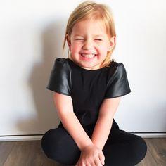 Eva Romper (Black) - Two Little Stars Black Romper, Little Star, Kids Outfits, Handmade Items, Rompers, Stars, Clothes, Women, Fashion
