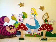 Alice in Wonderland - Cheshire Cat - Party/Room Decoration.