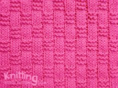 The Basket Weave Ribbing pattern is worked using only knit and purl stitches but the textured effect is quite dramatic. The wrong side is also interesting.