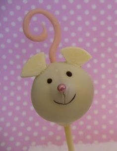 mouse cakepops cant get any cuter than this