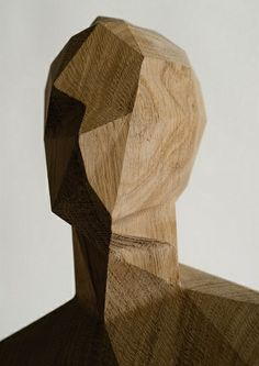 Love the geometric edges juxtaposed with such an organic medium. Sculpture by french artist Xavier Veilhan. WABI SABI - simple, organic living from a Scandinavian Perspective.: A world of wood Xavier Veilhan, Scandinavia Design, Art Sculpture, Metal Sculptures, Bronze Sculpture, French Artists, Wood Carving, Wood Art, Wood Wood