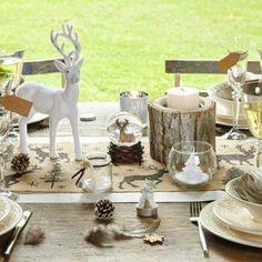 Une decoration de table scandinave
