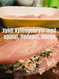 Pollo Chicken, Low Carb Recipes, Healthy Recipes, Danish Food, Fish And Meat, Breakfast Snacks, No Cook Meals, Food Inspiration, Chicken Recipes