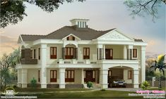 Designer homes   Luxury Home DesignsLuxury house for Mr  Dileep at Koonammavu by Mathewandsaira  . Designer Luxury Homes. Home Design Ideas