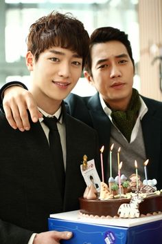 Seo Kang Joon and Joo SangWook....from Sly and Single Again 앙큼한 돌시녀