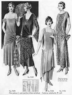 Weldons Ladies Journal Patterns 1920s