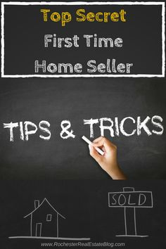 Top Secret First Time Home Seller Tips And Tricks - http://www.rochesterrealestateblog.com/top-first-time-home-seller-tips-and-tricks/ via @KyleHiscockRE #realestate #Homeselling #firsttimehomeseller