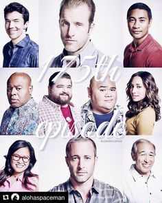 Great edit by celebrating 175 episodes! Ian Anthony Dale, Meaghan Rath, Action Tv Shows, Hawaii Five 0, Cop Show, Scott Caan, Watch Episodes, Alex O'loughlin, That's Entertainment