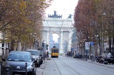 Milano Arc de Triomphe. March 2012 :)