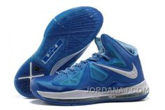 http://www.jordanaj.com/854215621-2013-new-nike-lebron-10-x-blue-white.html 854-215621 2013 NEW NIKE LEBRON 10 X BLUE WHITE Only $82.00 , Free Shipping!