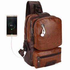 a076dc5a63 VICUNA POLO Vintage Chest Bag. Handbags For MenUsbMessenger ...