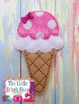 Ice Cream Cone Over Sized