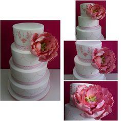 Tarta de Boda con Peonia DuArt Cake Wedding Cake Peonia