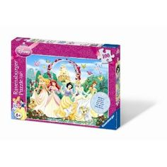 Sparkling Disney Princess with Glitter XXL 100 piece puzzle