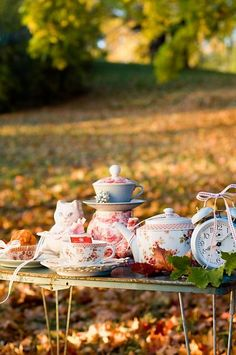 Alice in Wonderland themed outdoor party!