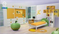 Wanna Bite? kids room at SIMcredible! Designs 4
