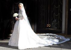 Nicky Hilton da el 'sí, quiero' con un espectacular vestido de Valentino - Foto 1