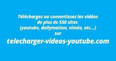 Télécharger des vidéos Youtube en mp4 ou convertissez une vidéo youtube en mp3 sans installer de logiciels ou de scripts grâce à notre convertisseur youtube. Téléchargez les vidéos de plus de 700 sites.