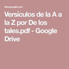 Versículos de la A a la Z por De los tales.pdf - Google Drive