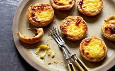 Portuguese custard tart  - Diana Henry  recipes  - these are so delicious!