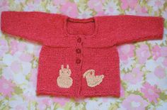 Free Knitting Pattern - Baby Sweaters: Katie Bell Baby Cardi