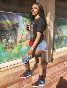 The Effective Pictures We Offer You About baddie outfits plus size A quality picture can tell you ma Cute Swag Outfits, Chill Outfits, Dope Outfits, Retro Outfits, Trendy Outfits, Curvy Outfits, Teenage Outfits, Girls Summer Outfits, Teen Fashion Outfits