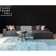 Elementenbank Lars heeft een moderne uitstraling. De hoekbank is verkrijgbaar in verschillende elementen. De kleur van het bankstel kunt u ook geheel zelf bepalen zodat deze bank perfect in uw woonkamer staat. | HoekbankXXL