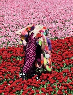 """""""In Bloom"""" taken from the July 2011 issue of Dazed Photography Viviane Sassen, styling Katie Shillingford"""
