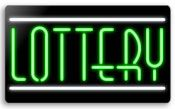 Everbrite Lottery Neon Sign