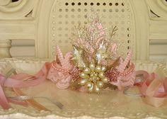 Plastic Princess Tiara painted and embellished beautifully.