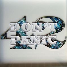 """Quilling in the words of Douglas Adams """"Don't Panic""""! Quilling Letters, Origami And Quilling, Paper Quilling, Paper Art, Paper Crafts, Diy Crafts, Quilling Instructions, Paper Structure, Quilling Designs"""
