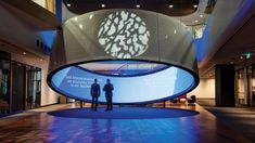 Telstra unveils it's new high tech 'Customer Insight Centre' (or CIC), with the 3600 square metre facility taking up the entirety of the second floor at Screen Design, Technology Design, Digital Technology, Display Design, Booth Design, Signage Design, Urban Furniture, Digital Signage, Exhibition Space