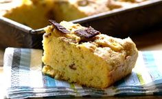 Dad's #Biltong Mealie Bread: a great pre-braai snack for festive #Christmas gatherings.